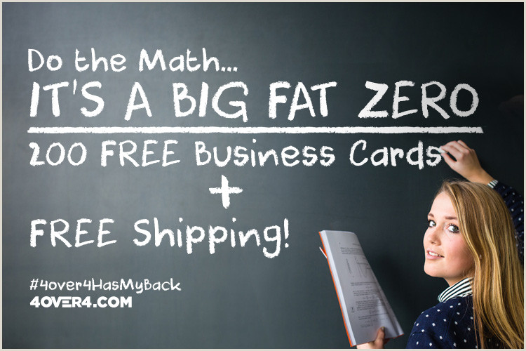 Best Business Cards Online 4 Color Process Free Business Cards & Free Shipping Yes Totally Free