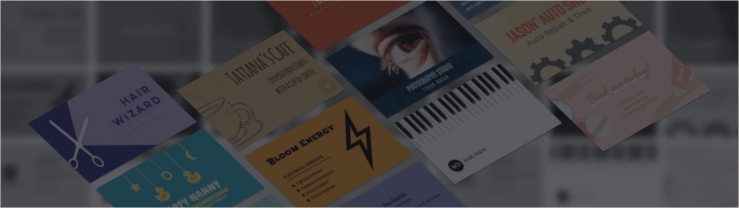 Best Business Cards Online 4 Color Process How To Make Business Cards With Free Business Card Maker