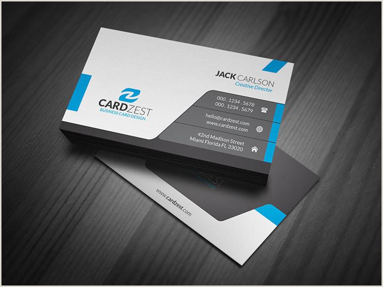 Best Business Cards Online 4 Color Process Modern & Sleek Professional Business Card Template Cardzest