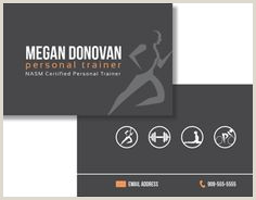Best Business Cards Online Personal Trainer 10 Personal Training Business Cards Ideas