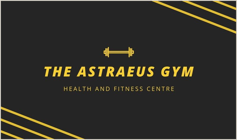 Best Business Cards Online Personal Trainer Free Personal Trainer Business Cards Templates To Customize