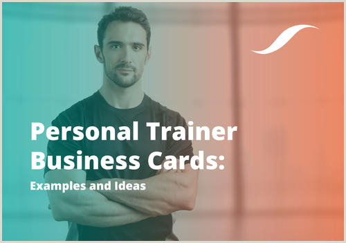 Best Business Cards Online Personal Trainer Personal Trainer Business Cards Examples & Ideas 2020