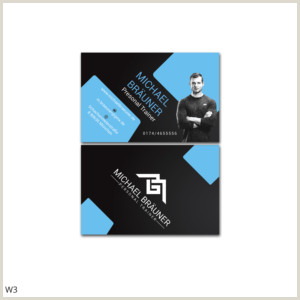 Best Business Cards Online Personal Trainer Personal Trainer Business Cards