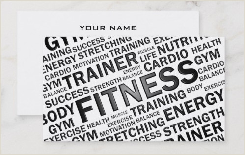 Best Business Cards Online Personal Trainer Top 27 Personal Trainer Business Cards Tips