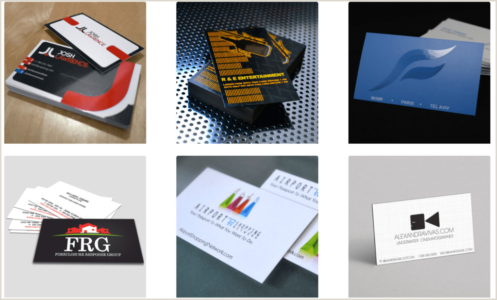 Best Business Cards Online Review Best Business Card Printing Service Reviews Of 2020