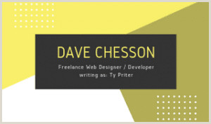 Best Business Cards Or Writers Author Business Cards 101 How To Design And Create
