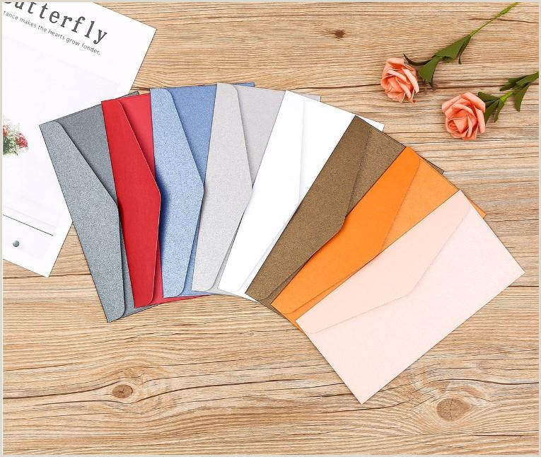 Best Business Cards Paper 2020 2020 Cheap Wetern Pearl Paper Multiple Colour Chinese Pocket Wedding Invitation Card Romantic Envelopes From Yiwandailyfine $30 16