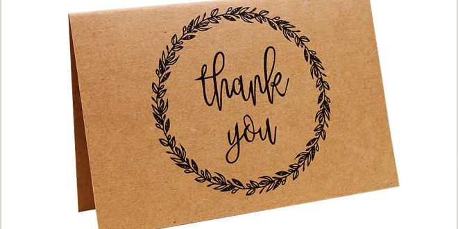 Best Business Cards Paper Business Retro Thank You Writable Party Graduation Brown Paper Wedding Greeting Card Nostalgic with Envelope Printed Personalized Greeting Cards