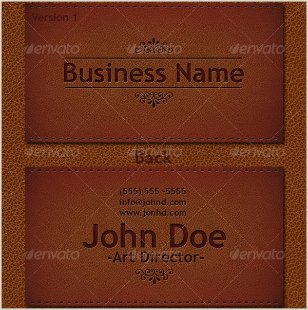 Best Business Cards Paper Leather Leather Business Card Template 21 Psd Ai Eps Format