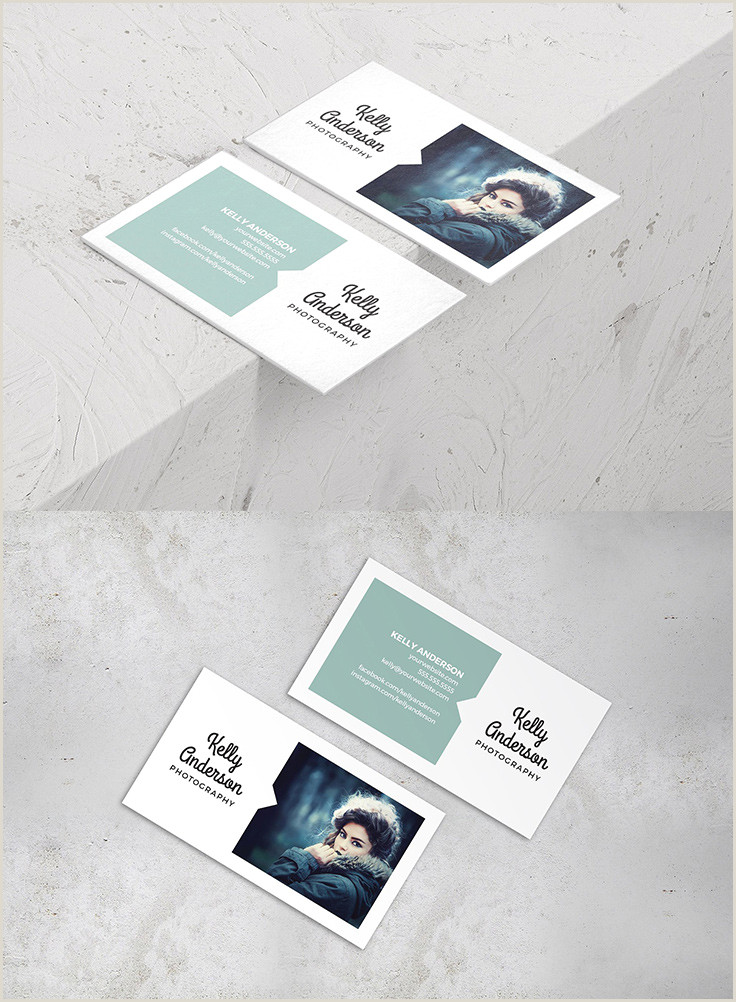 Best Business Cards Photographer 40 Graphy Business Card Templates