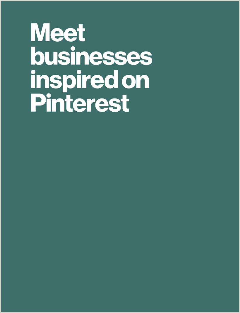 Best Business Cards Pinterst S 1