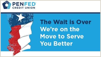 Best Business Cards San Antonio Penfed Credit Union To Open New Financial Center In San