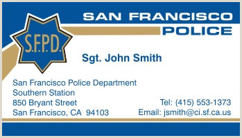 Best Business Cards Sf Ca Policebusinesscards Display Business Cards