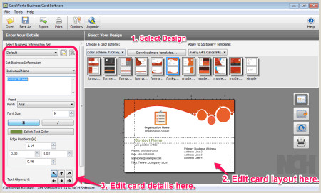 Best Business Cards Software 7 Best Free Business Card Maker Software For Windows