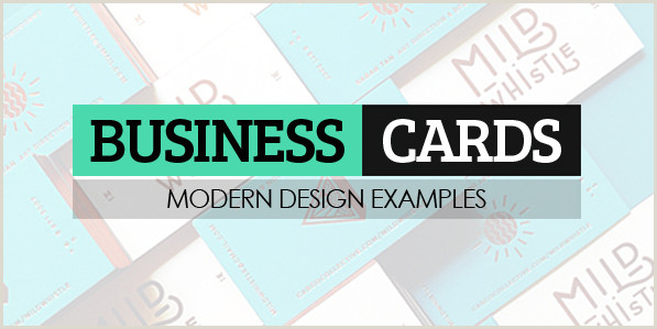 Best Business Cards Teal 36 Modern Business Cards Examples For Inspiration