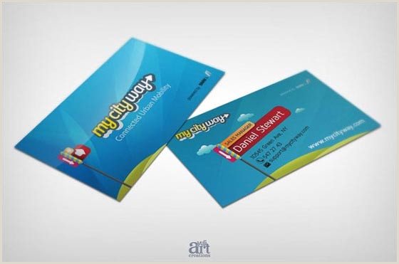 Best Business Cards Teal Blue 30 Amazing Blue Business Cards Designs