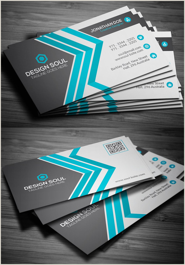 Best Business Cards Teal Blue 80 Best Of 2017 Business Card Designs Design