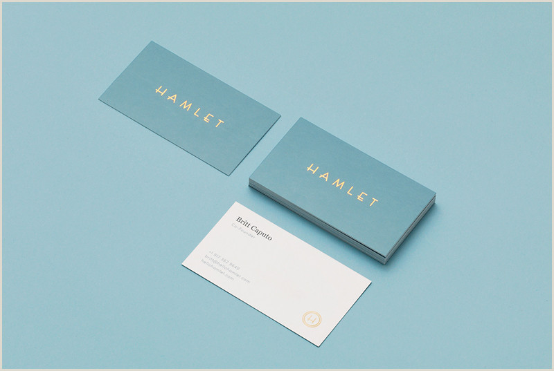 Best Business Cards Teal Blue Business Card Design Inspiration 60 Eye Catching Examples
