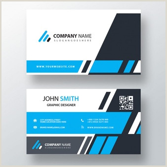 Best Business Cards Teal Blue Card