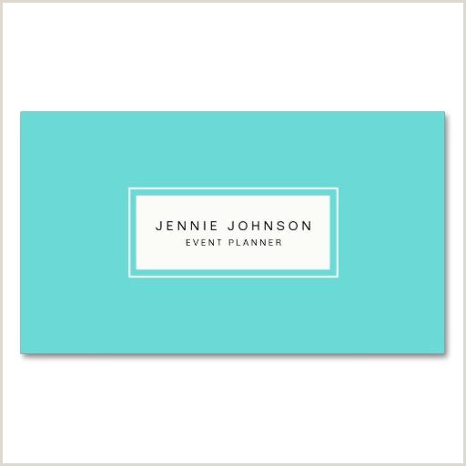 Best Business Cards Teal Elegant Modern Blue Business Card Zazzle