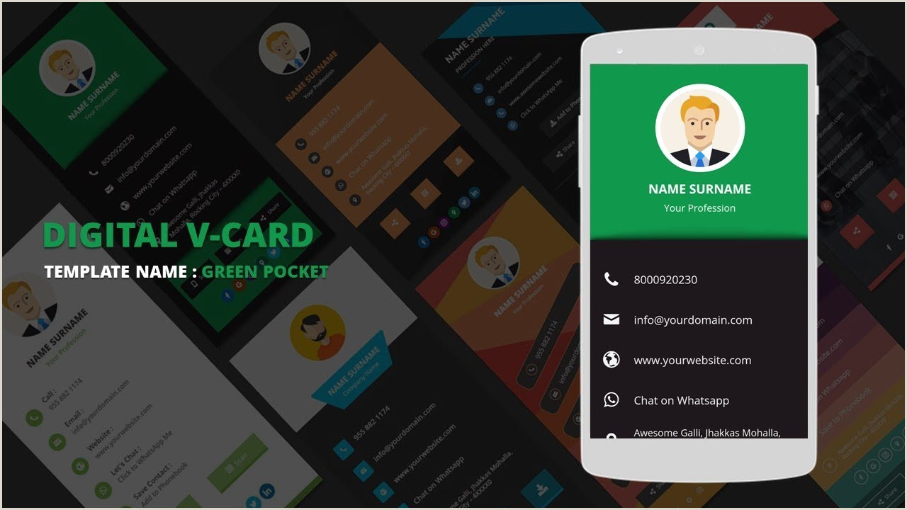 Best Business Cards Vc Digital Business Card Templates