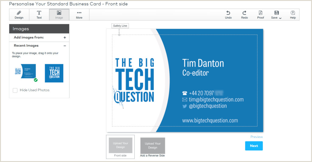 Best Business Cards Vistaprint Compare Vistaprint Business Cards Review Are They As Polished As
