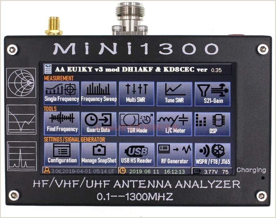 Best Business Cards Wirecutter Amazon Sucastle Nanovna Vector Network Analyzer 4 3