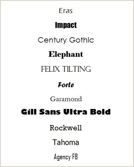 Best Font For Business Card Fonts That Get Your Business Card Noticed Resources