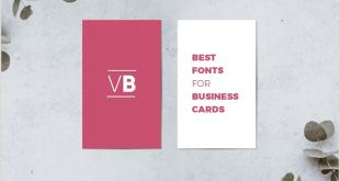 Best Fonts for Business Cards 30 Best Fonts for Business Cards