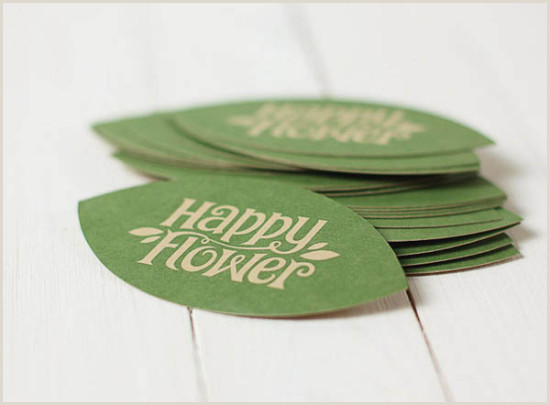 Best Fonts For Business Cards Creative Business Cards Happy Flower And Card Image