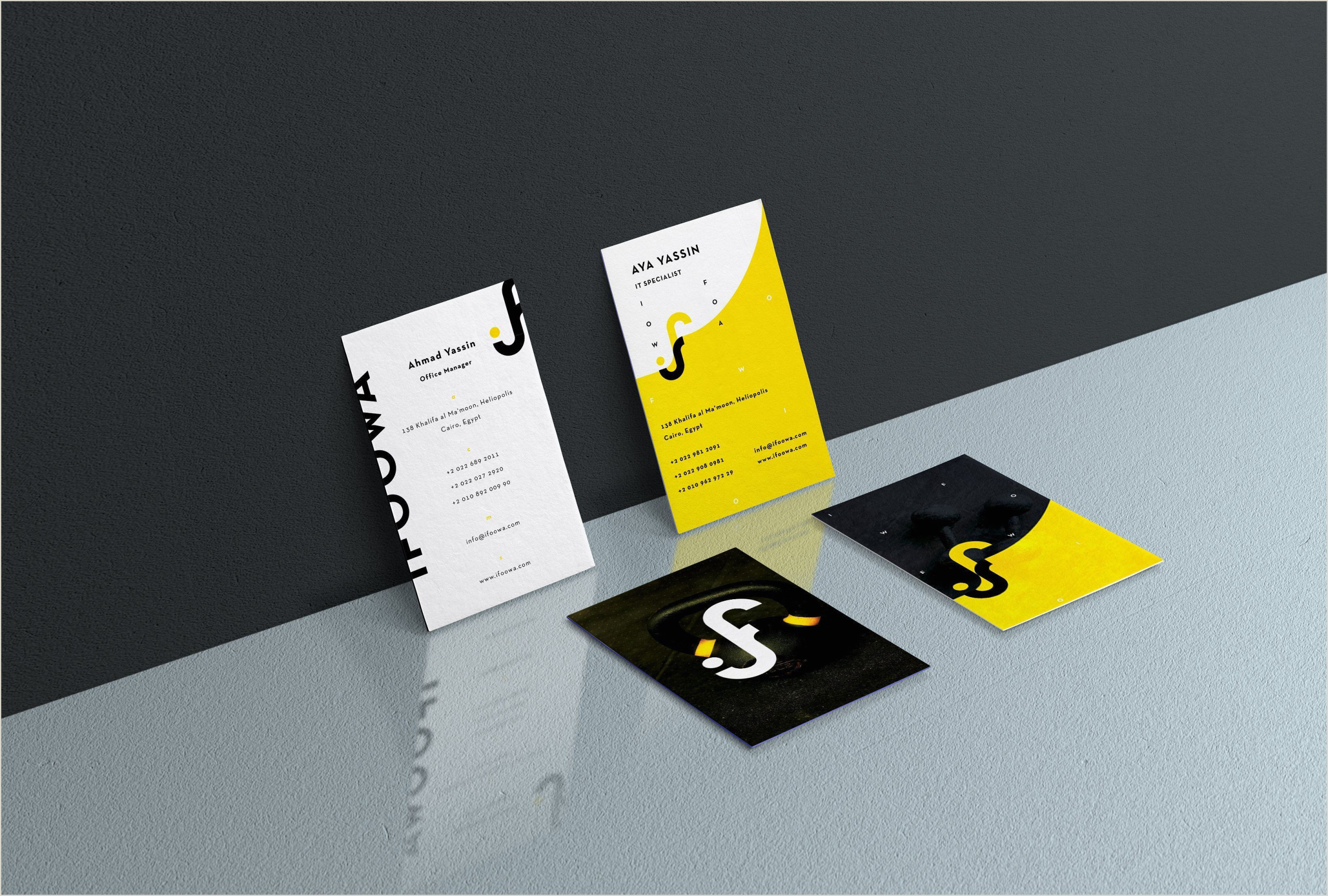 Best Fonts For Business Cards Sports Business Card Design