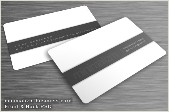 Best Minimal Business Cards 25 Minimal Business Card Design Examples Dotcave