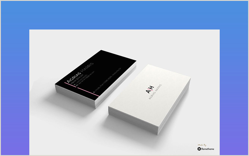 Best Minimal Business Cards 25 Minimal Business Cards With Simple Modern Design Ideas