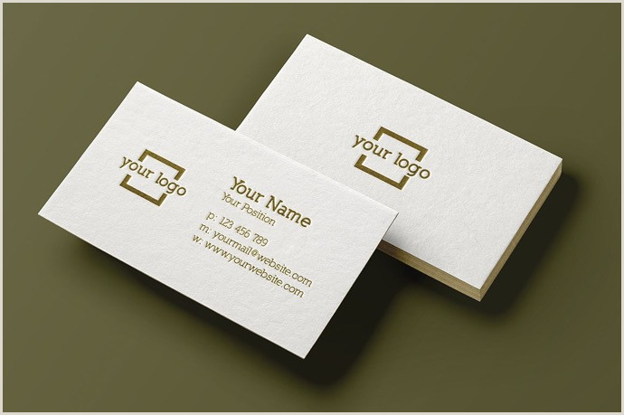 Best Minimal Business Cards 30 Simple & Minimal Business Card Templates For 2020