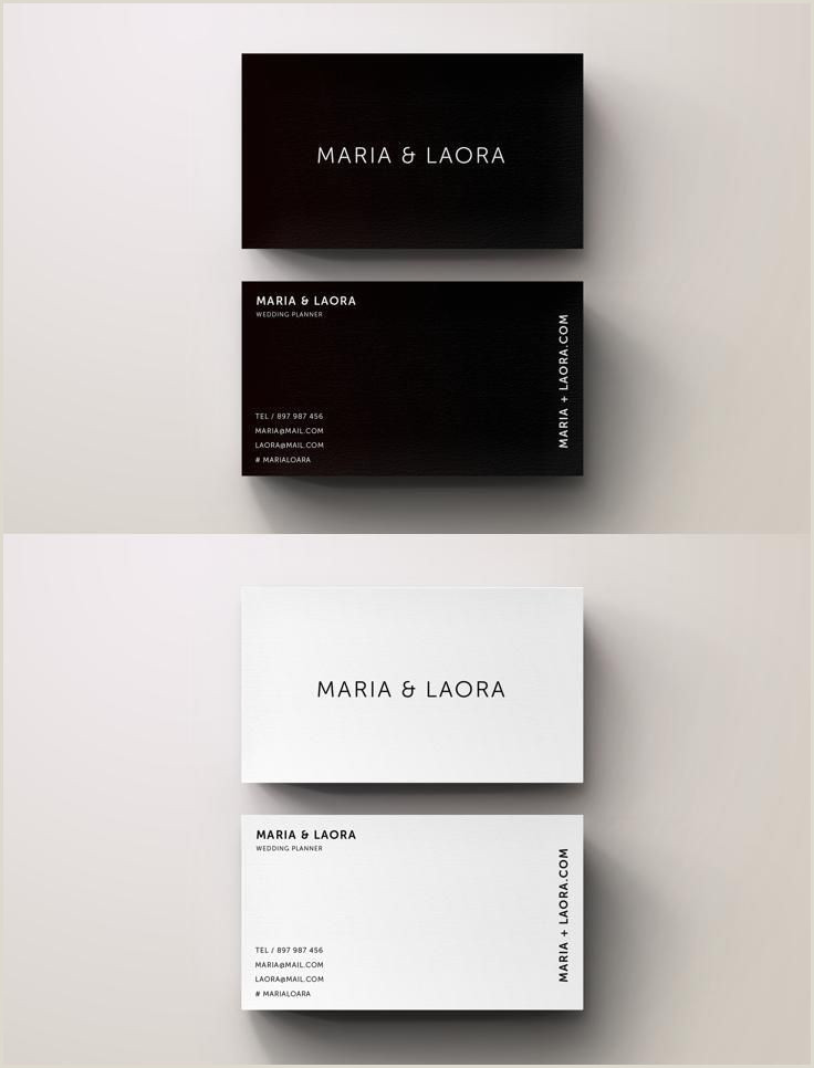 Best Minimal Business Cards Businesscard Design From Blank Studio
