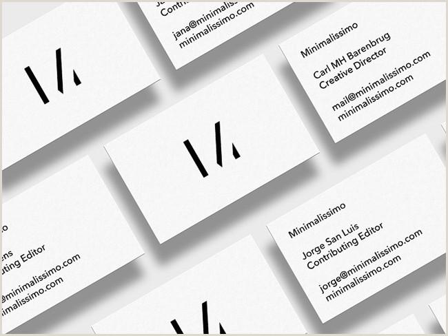 Best Minimalist Business Cards 20 Best Minimalistic Business Cards Designs