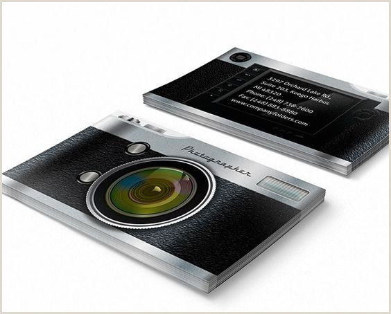 Best Photographer Business Card 40 Creative Graphy Business Card Designs For