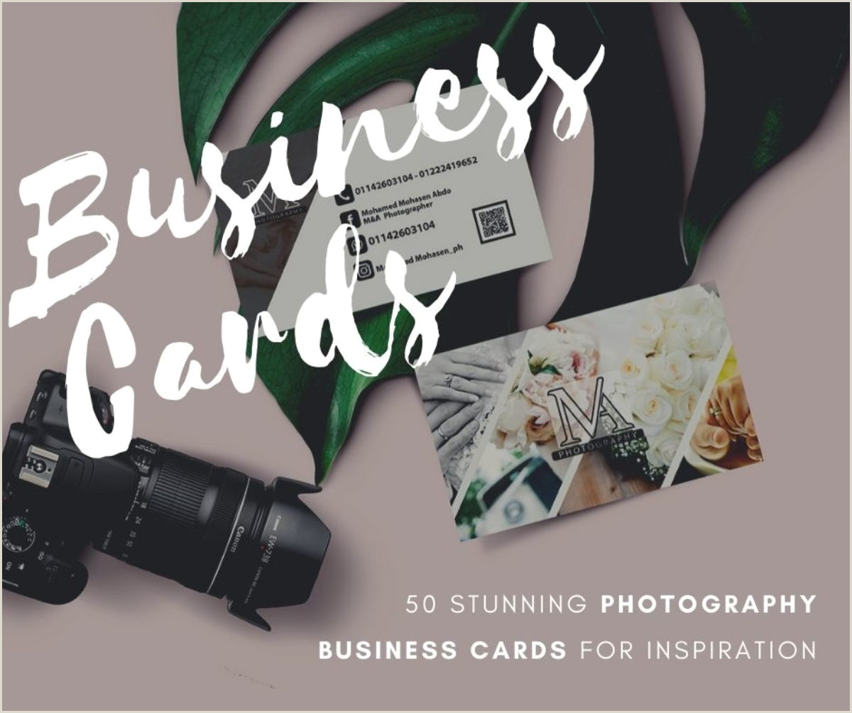 Best Photographer Business Card 50 Best Graphy Business Cards For Inspiration