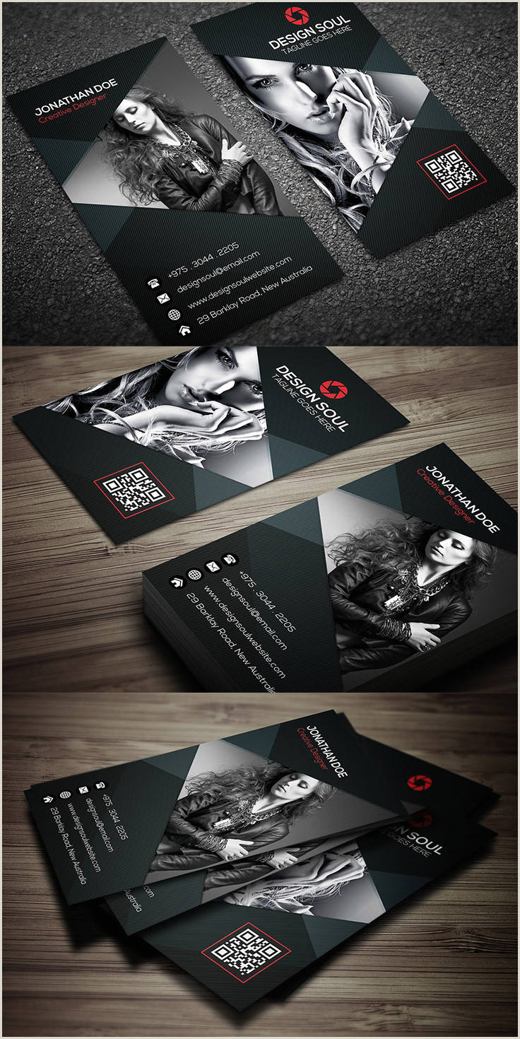 Best Photographer Business Cards 40 Graphy Business Card Templates