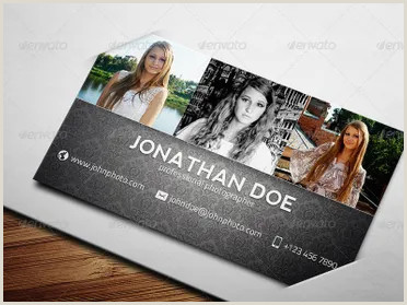 Best Photographer Business Cards 65 Graphy Business Cards Templates Free Designs