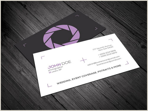 Best Photography Business Cards 17 Best Graphy Business Card Templates