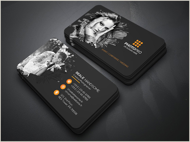 Best Photography Business Cards 40 Graphy Business Card Templates