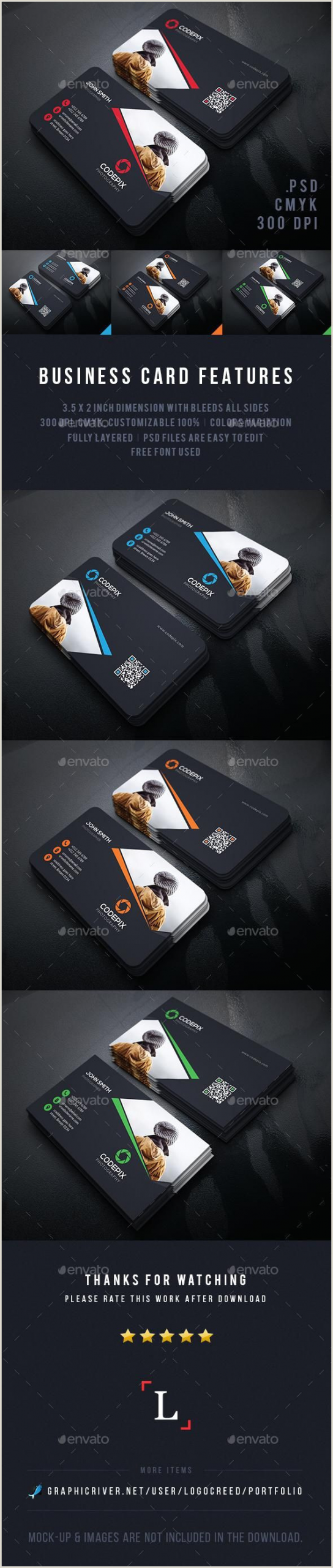 Best Photography Business Cards Elegant Graphy Business Card