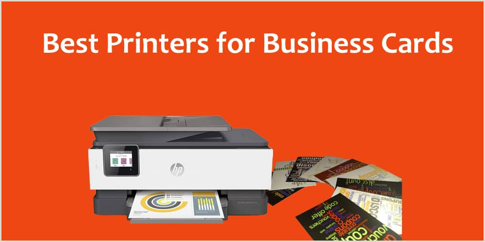 Best Printer For Unique Business Cards Top 5 Best Printers For Business Cards Buying Guide