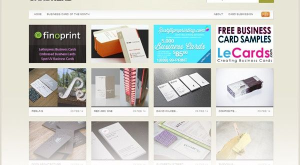 Best Sites for Business Cards 22 Best Places to Find Business Card Design Inspiration