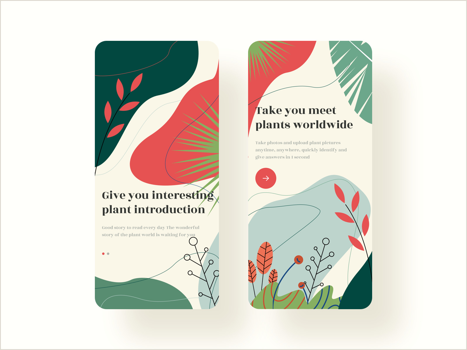 Best Time To Post On Dribbble Identify Plants App Guide Page In 2020