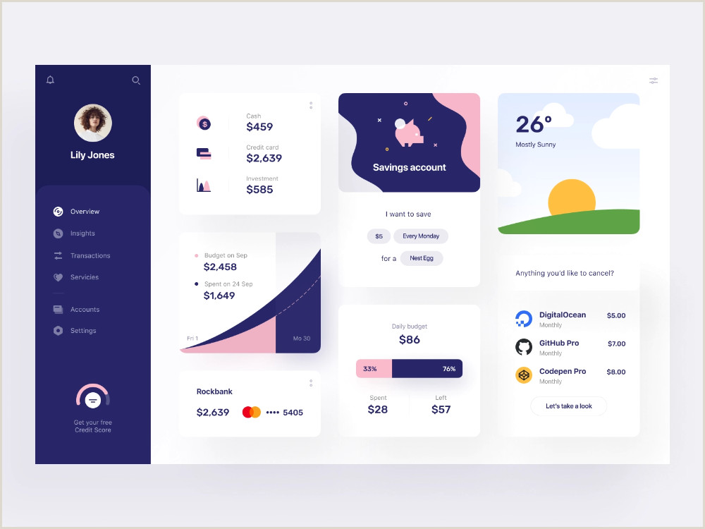 Best Time To Post On Dribbble Neobank Overview By Vladimir Gruev For Heartbeat Agency On