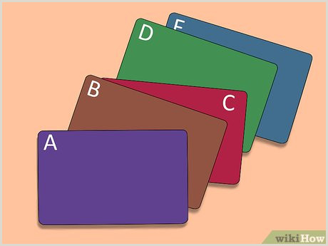 Best Way To Store Business Cards 3 Ways To Organize Business Cards Wikihow