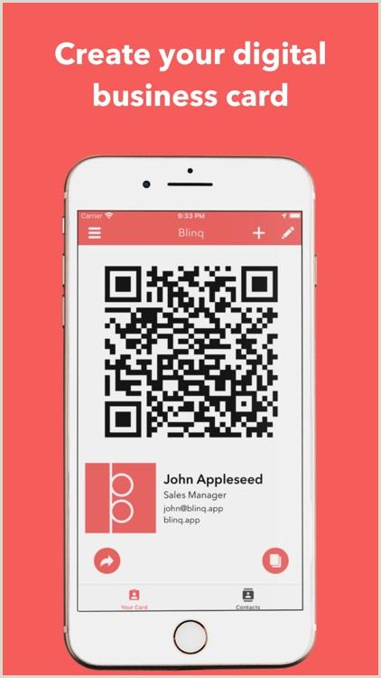 Biusiness Cards Blinq Digital Business Cards By Rabbl Pty Ltd