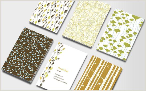 Biz Cards Online Business Cards Nature Patterns